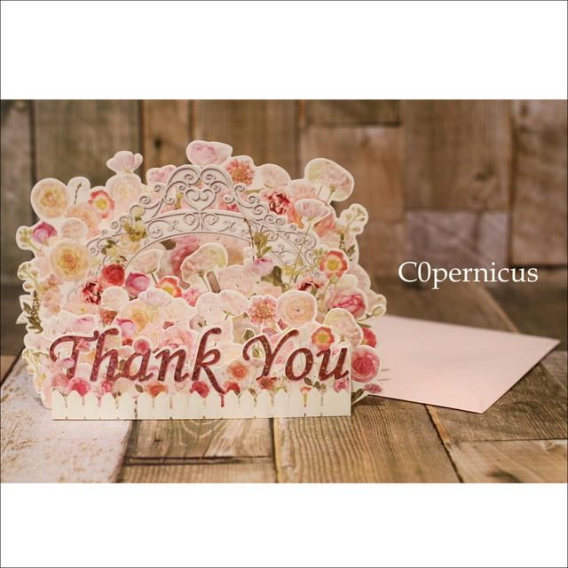 サンキュー【グリーティングカード】便箋・封筒レーターセット/浜松雑貨屋C0pernicus