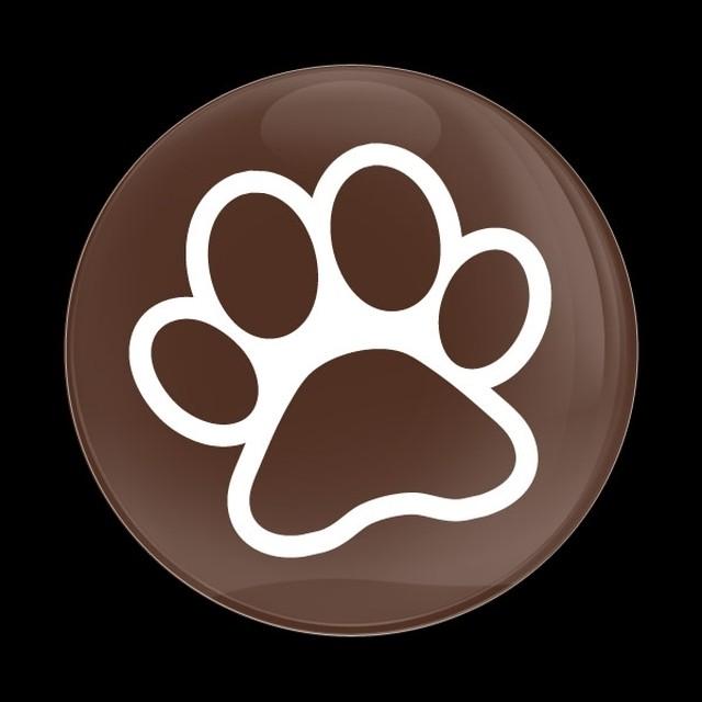 ゴーバッジ(ドーム)(CD1072 - DOG PAW) - メイン画像