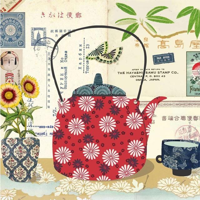 【Paperproducts Design】バラ売り2枚 ランチサイズ ペーパーナプキン Le Thé ナチュラル