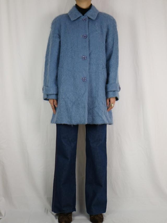 mohair coat 【5077】