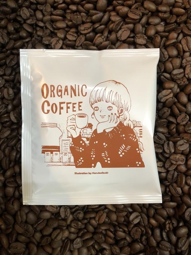 有機JAS認定商品だから安心!オーガニックドリップバッグコーヒー11g
