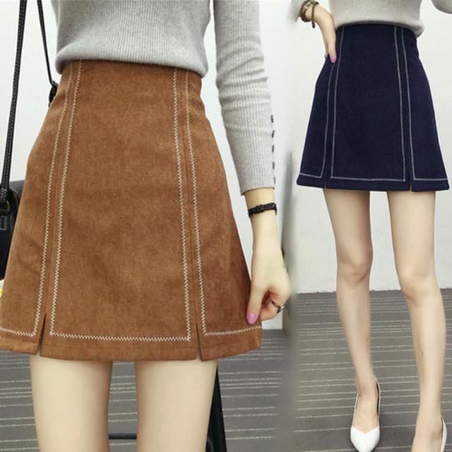 Aラインミニスカート SHD091416