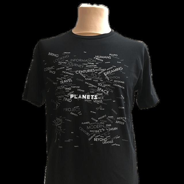 """【年末セール限定商品】""""Planets"""" オリジナルTシャツ(送料無料) - メイン画像"""