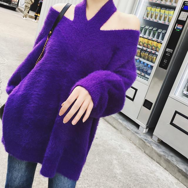 【tops】ふわふわお洒落を楽しんで♡セーター