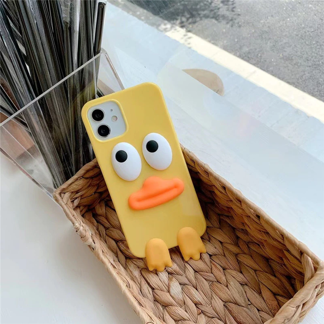 Duck mouth iphone case