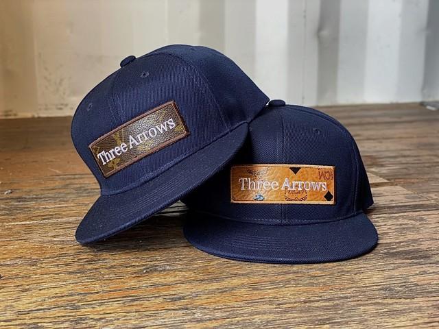 ThreeArrows Shaka CAP (black)