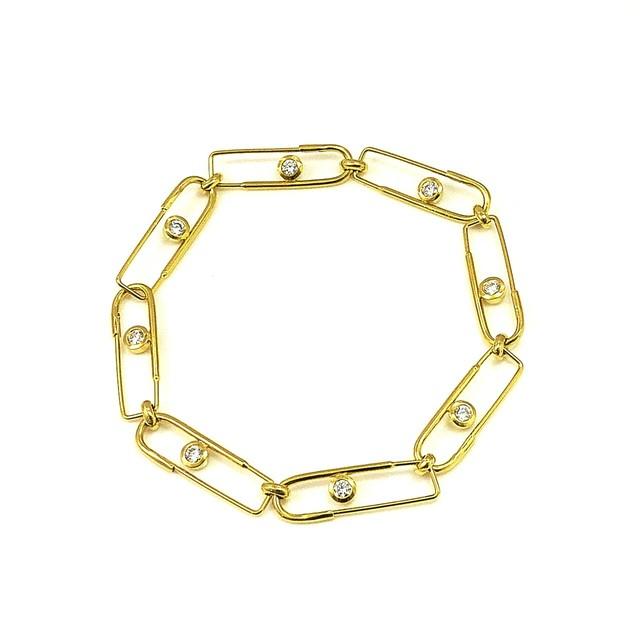 販売終了  UCC-B2G Eternal PIN ゴールドコーティング ブレスレット