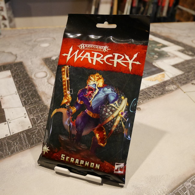 Warcry Seraphon Cards