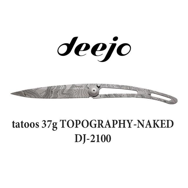 Deejo(ディージョ) composite 37g ONE HAND 折りたたみ ポケットナイフ アウトドア キャンプ ナイフ サバイバル 登山 軽量 DJ-0701 DJ-0702