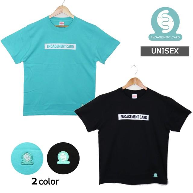 【選べる2色/シンプルロゴデザイン】オリジナル Tシャツ メンズ レディース ユニセックス  エンゲージメントカード