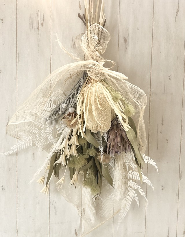 (Re:II)限定商品 / Dried Flower スワッグ Type:H)