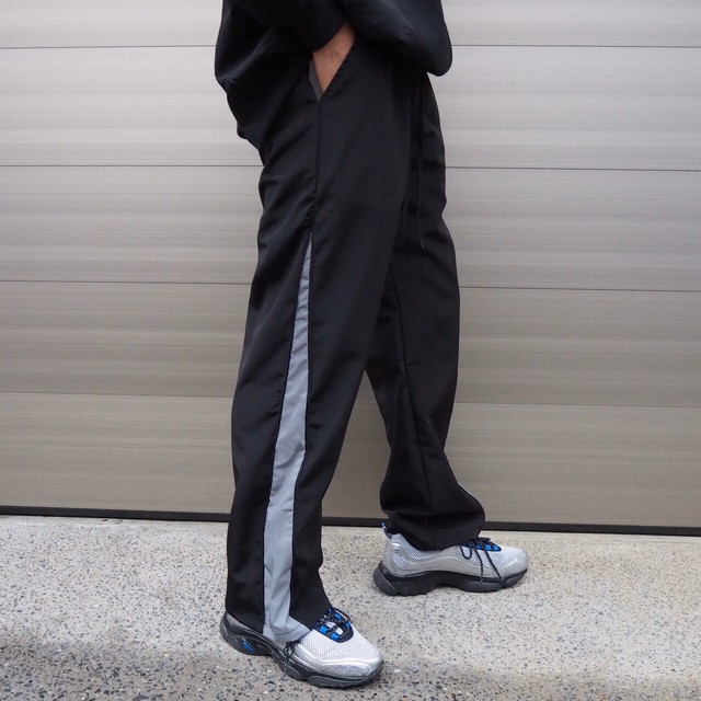 【MENS - 1 size】REFLECTOR PANTS / Black