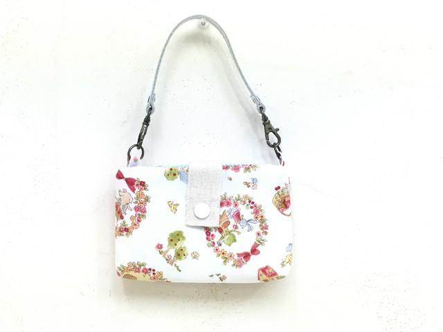 +☆+rozayumi+☆+ お花とドットとレースのポーチ