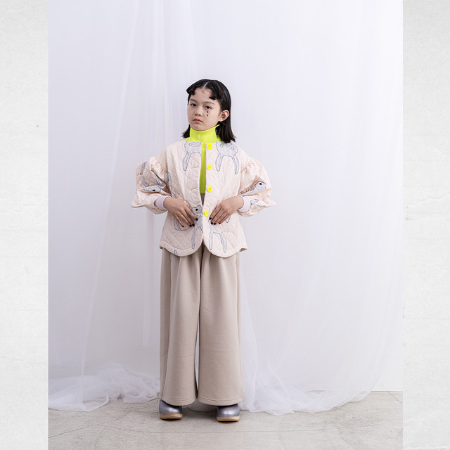DOUBLE KNIT WIDE OVERALL / S - L