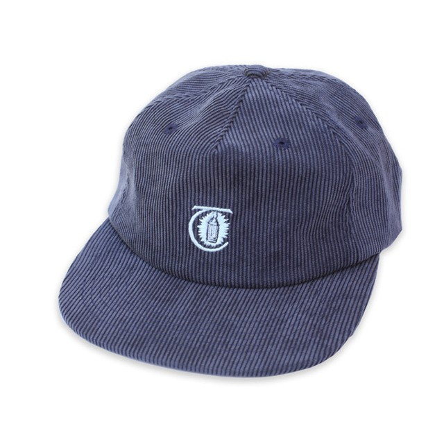 THEORIES CAP -LANTERN CORDUROY- NAVY
