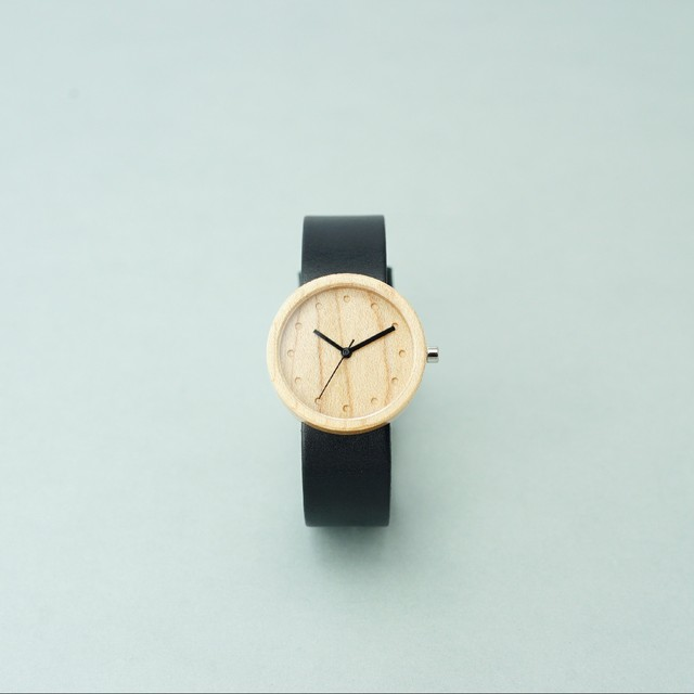 Maple wood - Black - M