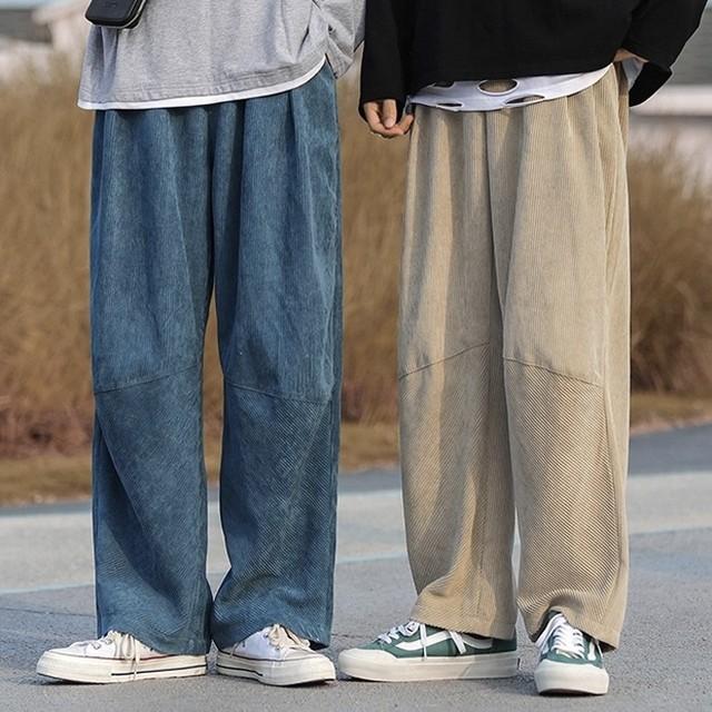 corduroy loose pants PD2536