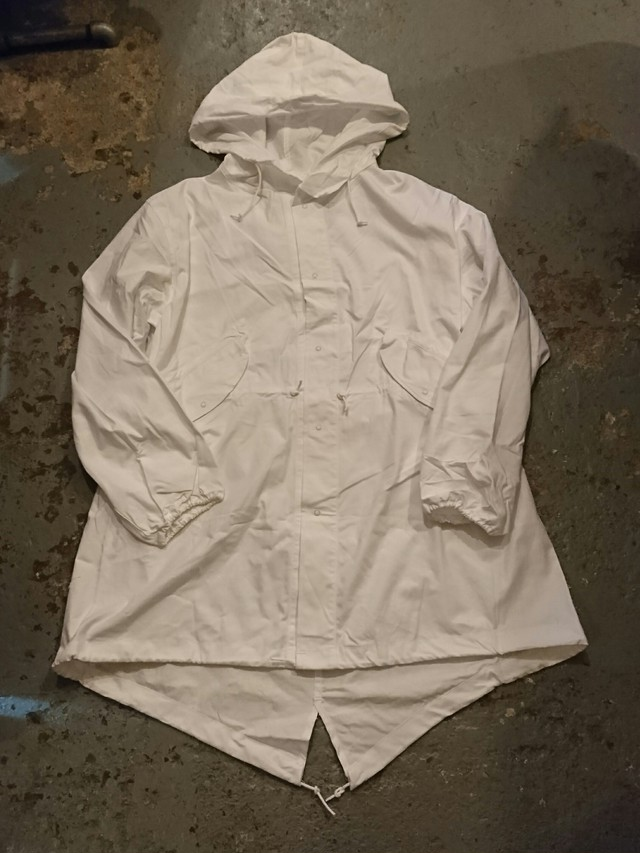 """70s """"US ARMY SNOW CAMOUFLAGE PARKA"""" N.O.S"""