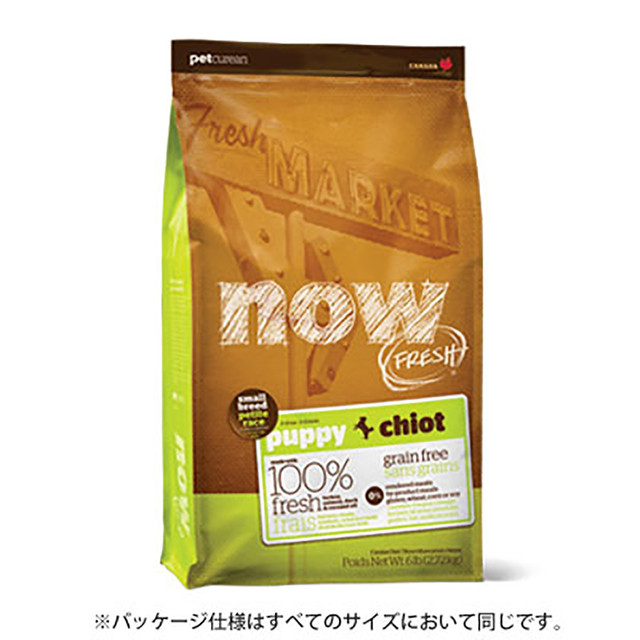 11.34kg NOW FRESH Grain Free スモールブリード パピー DOG