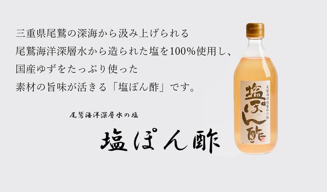 塩ぽん酢 500ml