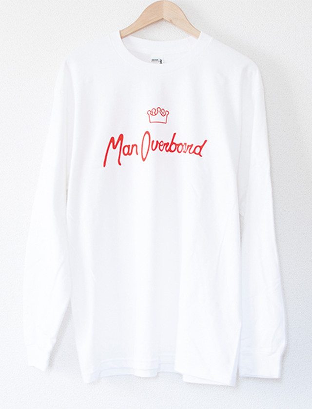 【MAN OVERBOARD】The Very Best Long Sleeve (White)