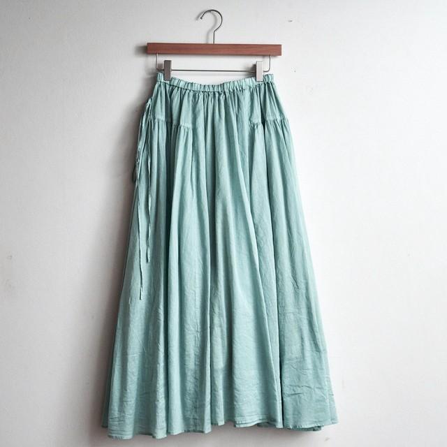 suzuki takayuki スズキタカユキ long skirt spray green S211-32 (レディース)