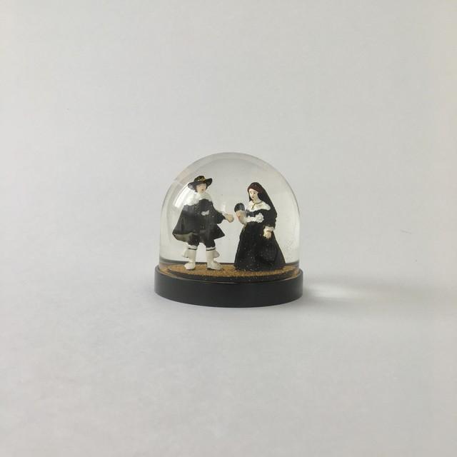 スノーグローブ 「マールテンとオーピエン」 レンブラント 絵画