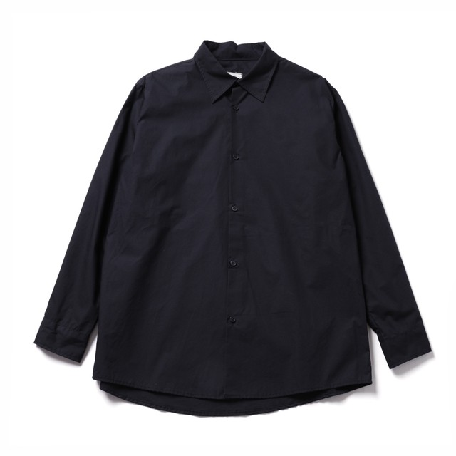 vast222 standard shirt Black