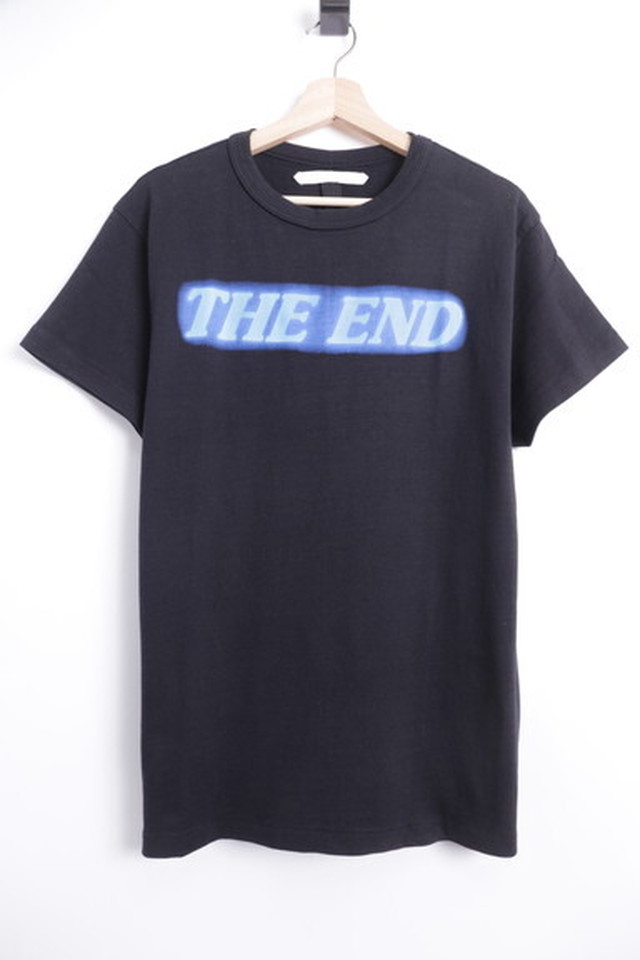 OFF-WHITE THE END TEE XS BLACK 40JH8157