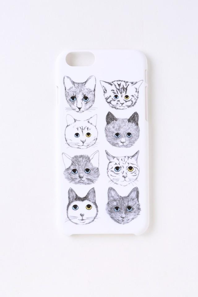 【再入荷】【iPhone8,iPhone7&iPhone6/6S対応】ネコそれぞれの人生iPhoneケース
