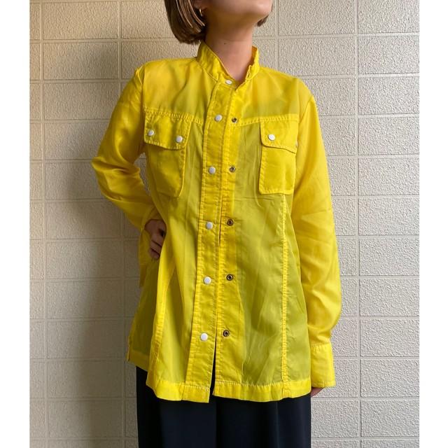 70s see-through shirt