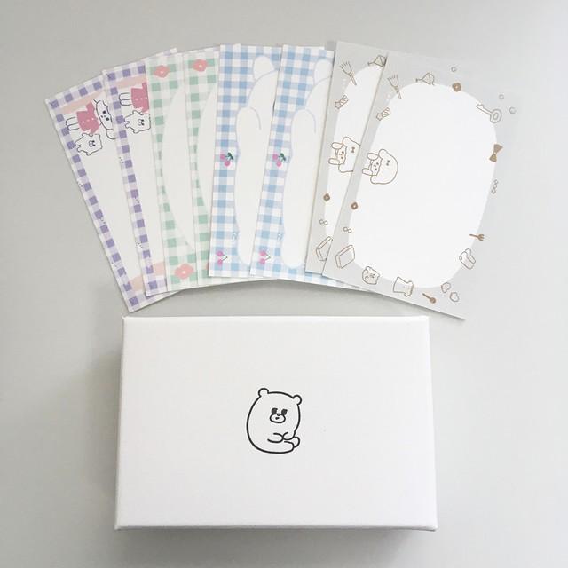 (カード入り)小さな箱「くま」