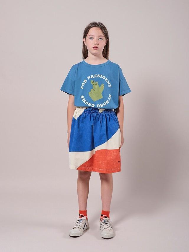 folk made フォルクメイド face print hooded shirts size:M(110-125)・L(125-140)