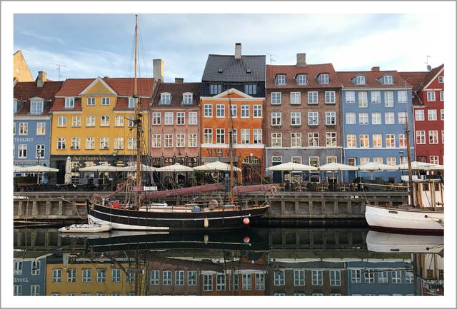Nyhavn(ニューハウン)   デンマークの風景ポストカード