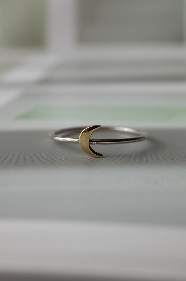 Tiny Moon Ring Mix - 009