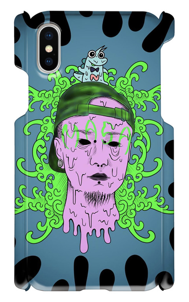 MASA IN THE HOUSE iphone x case