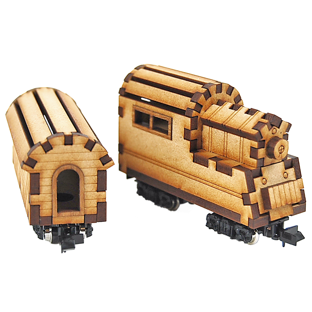 CRAFT VILLAGE 【LOCOMOTIVE&VAN】モーター付