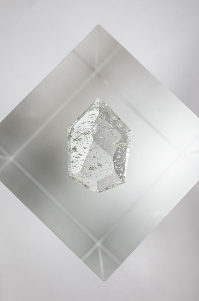 FACETED Garden Quartz - 005
