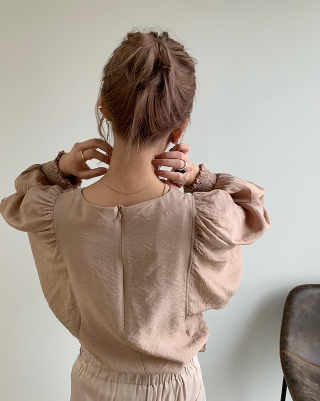 airy soft blouse