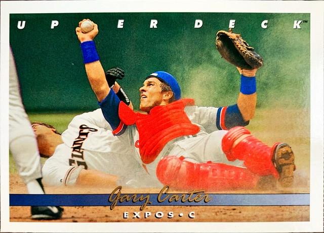 MLBカード 93UPPERDECK Gary Carter #219 EXPOS