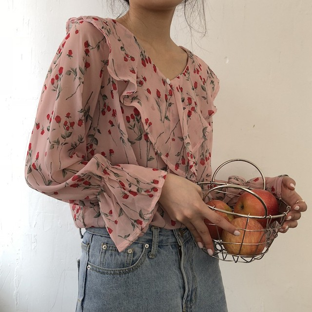blouse YL2762