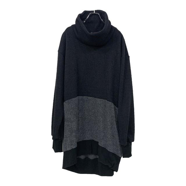 Tneck-PO (black/dark grey)