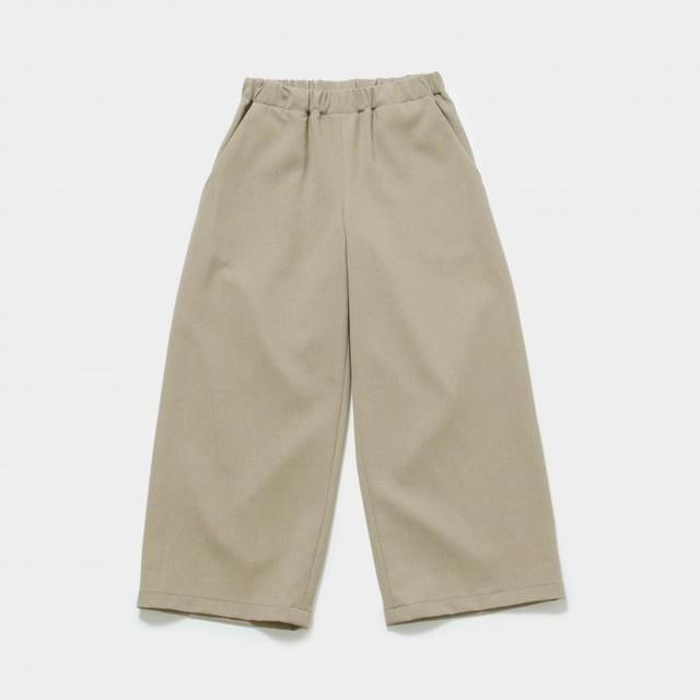 MOUN TEN.  polyester canapa widepants カーキ F (大人サイズ) MT201003-c