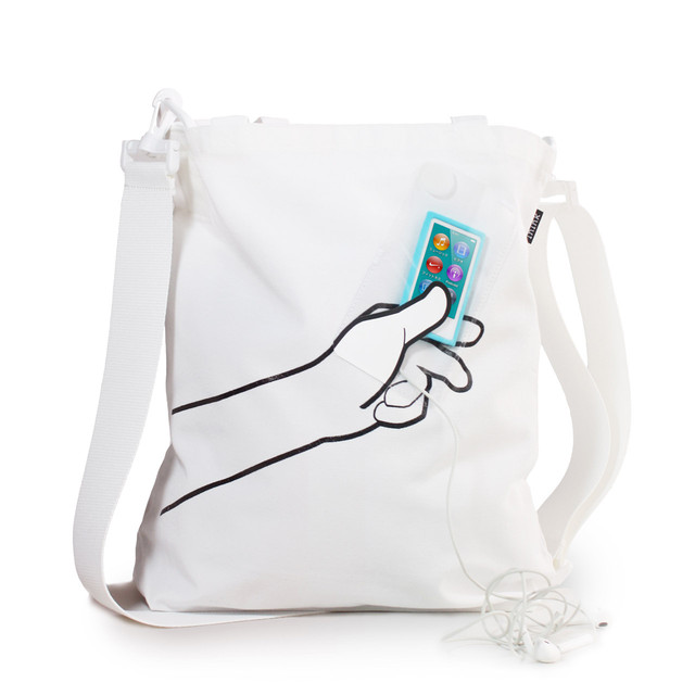 hand BAG(ホワイト)
