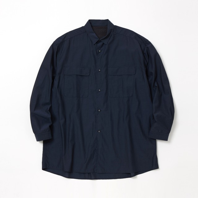 LONG SLEEVE SHIRT - NAVY