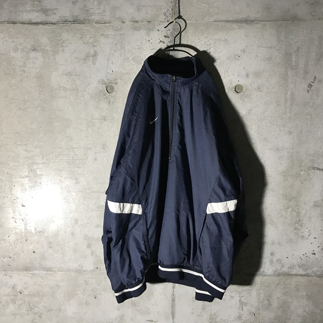 [NIKE] navy poly jacket