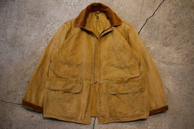 USED 50s AMERICAN FIELD Hunting Jacket -M-L J0739