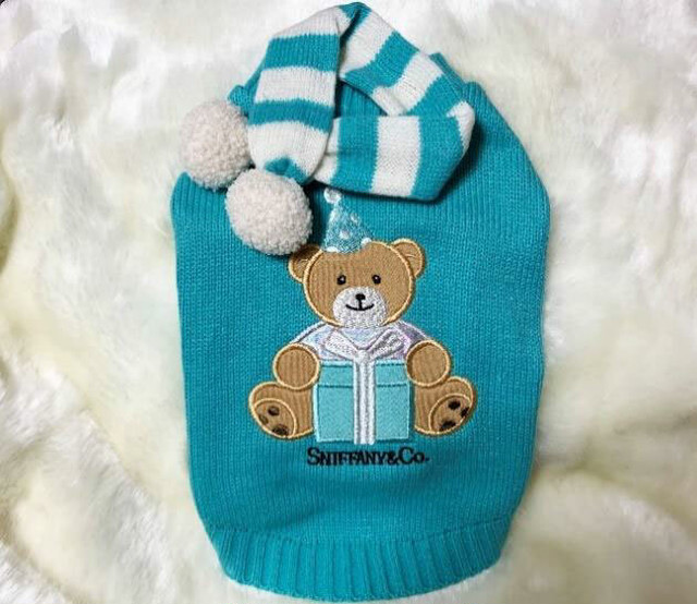 【予約】Luna Blue SNIFFY BEAR SWETER(LB-86)