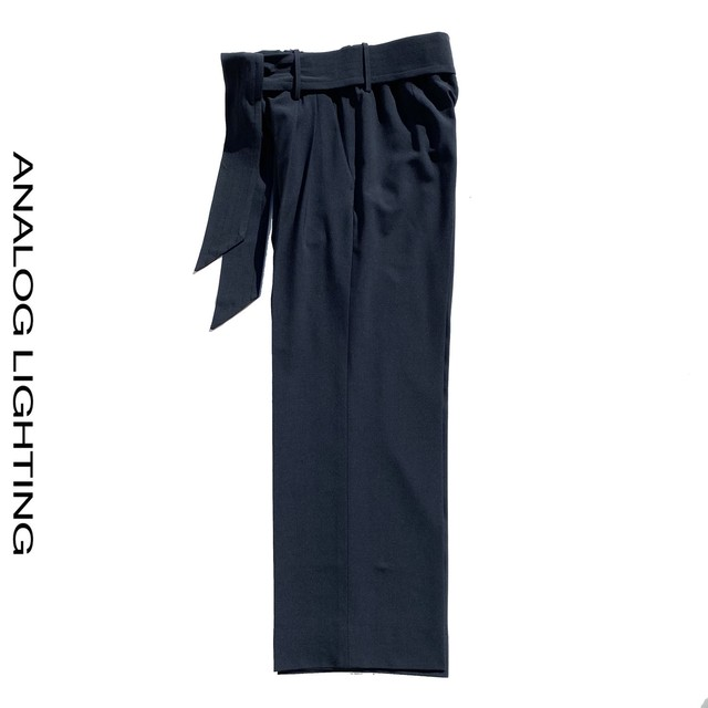Wide Pants WOOL/NAVY