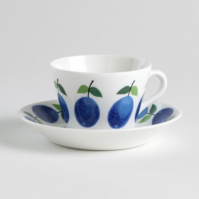 Gustavsberg グスタフスベリ Prunus プルーヌス コーヒーカップ&ソーサー - 5 北欧ヴィンテージ